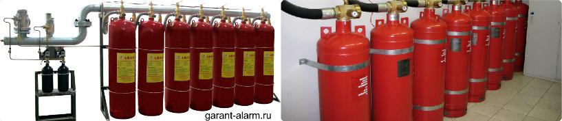 Расчет газового пожаротушения