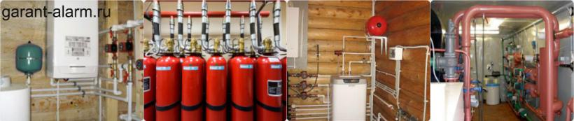 Особенности и преимущества газового пожаротушения