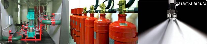 Преимущества водяного пожаротушения