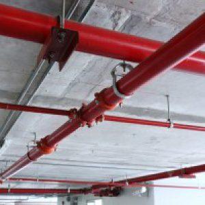Монтаж систем внутреннего противопожарного водопровода